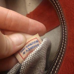 Dooney & Bourke Bags - Authentic red suede Dooney & Bourke purse handbag